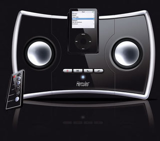 Hercules i-XPS 250 iPod speakers