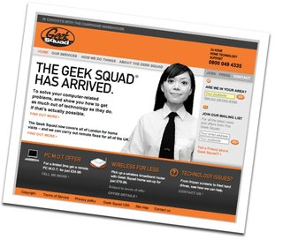 Geek Squad PC service