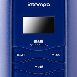 Intempo BD-01 portable DAB radio