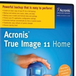 Acronis True Image 11 Home PC