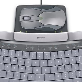 Microsoft Wireless Entertainment Desktop 8000 keyboard and mouse