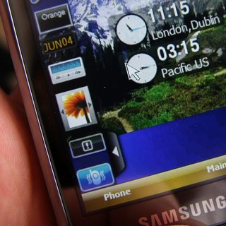 Samsung Omnia (SGH-i900) mobile phone - First Look