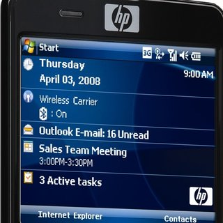 HP iPAQ 914c Business Messenger mobile phone