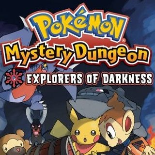 Pokemon Mystery Dungeon: Explorers of Darkness - DS