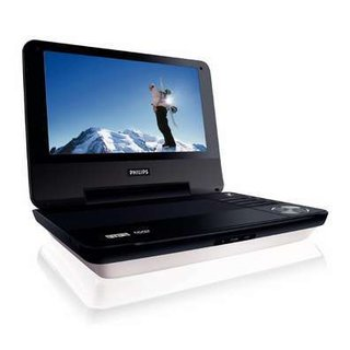 Philips PET940 portable DVD player