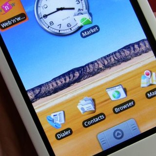 T-Mobile G1 with Google mobile phone