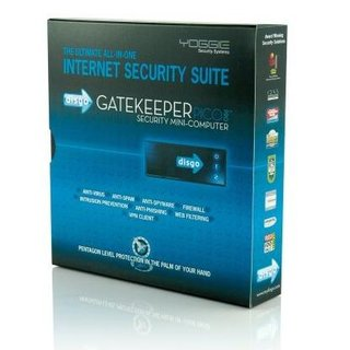 Yoggie Gatekeeper Card Pro internet security device