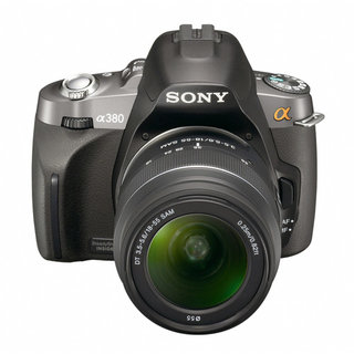 Sony Alpha A380 DSLR camera