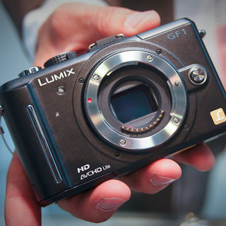 Panasonic Lumix DMC-GF1 camera - First Look