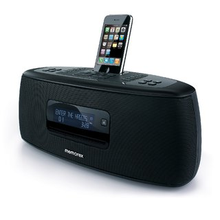 Memorex Sound System iPod dock