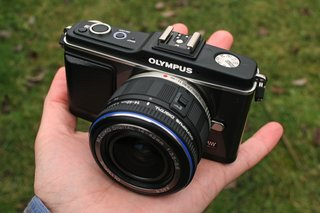 Olympus Pen E-P2 digital camera