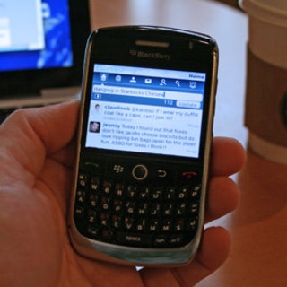 First Look: Twitter for BlackBerry