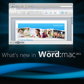 First Look: Microsoft Office for Mac 2011