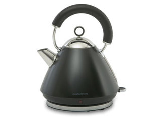 Morphy Richards Accents Black Traditional Kettle