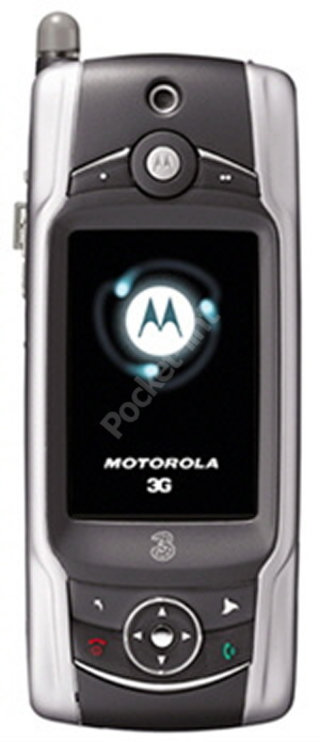 Motorola launches the A925 its fourth 3G phone
