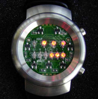 Are you geeky enough for a binary watch?