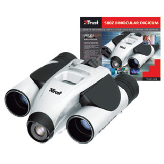 Trust has launched a pair of binoculars that have a built in digital camera.