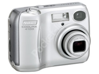 Nikon announces Coolpix 4100 4 mega pixel camera
