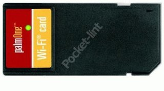 PalmOne unveils Wi-Fi SD Card