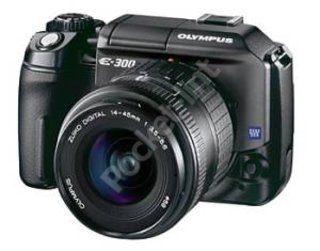 Olympus offer prosumer DSLR with the E-300