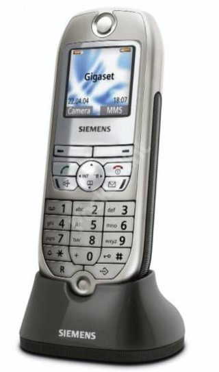 Siemens launch landline camera phone and Skype adapter