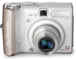 Canon launches the PowerShot A510