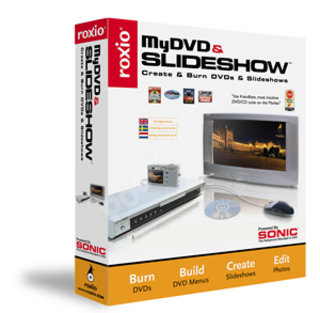 Roxio announces RecordNow Deluxe 7 and MyDVD and Slideshow