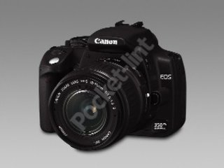 Canon upgrades EOS 300D with the EOS 350D