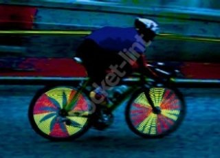 Brighten up your bicycle with Hokey Spokes