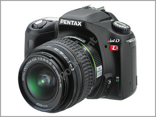 Pentax launch *ist DL entry-level DSLR