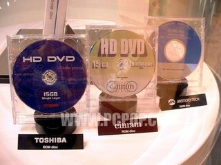 HD DVD v Blu Ray war may not break out