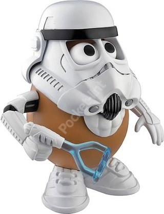 Spud Trooper taking over a toy shop near you