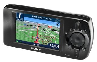 Sony launches its first GPS unit the NVX-P1