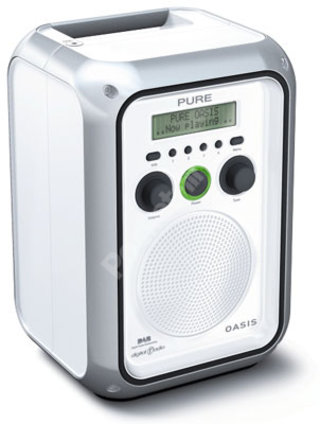 Pure Digital launches Oasis rechargeable weatherproof DAB radio