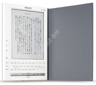 Sony rumoured to be launching English e-book device