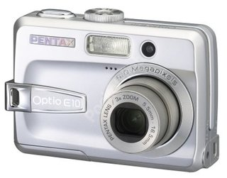 CES 2006: Pentax unveils optio A10 and Optio E10