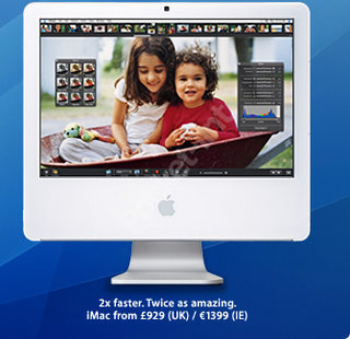 Apple launches new Intel powered iMac
