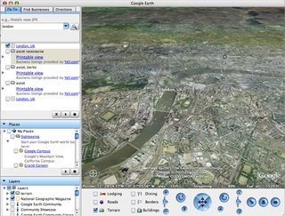 Google launches Google Earth for Mac