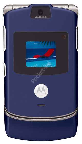 Motorola launch Cosmic Blue RAZR V3 for boys