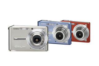 Casio goes 6 megapixel with new ultra slim Exilim digital camera