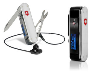 Victorinox launch  Army Knife MP3 player
