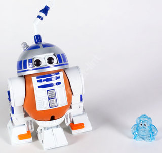 Mr Potato Head turns into R2D2 Tater - EXCLUSIVE PLUS IMAGE