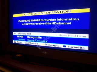 Sky set date for HD - EXCLUSIVE