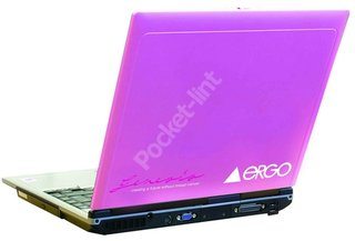 Girls get choice of pink with charity laptop