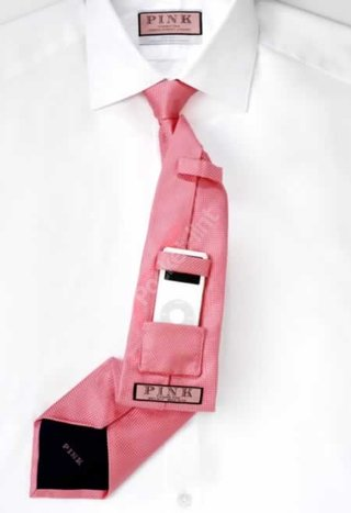 Pink launch iPod friendly tie
