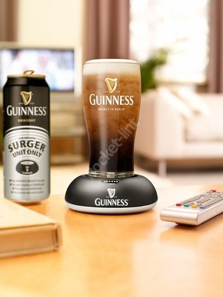 Guinness promise magic of the draught pint at home