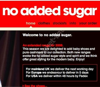 WEBSITE OF THE DAY - noaddedsugar.co.uk