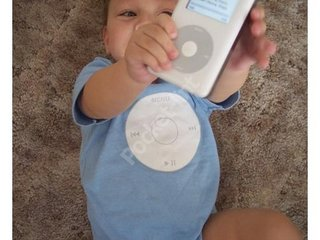 Turn your baby into an iPod
