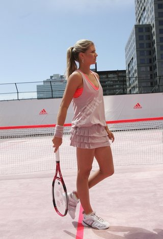 Adidas and Stella McCartney on the courts
