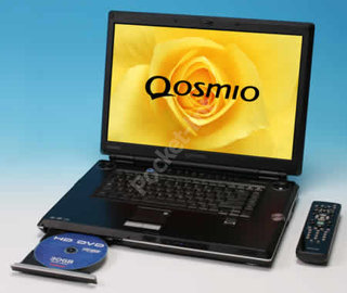 Toshiba launches Qosmio G30 HD-DVD ready laptop